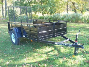 MV508SSS - 5' x 8' Economy Utility Trailer 2,990 GVW with solid steel sides