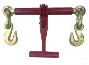 T Handle Ratchet Load Binder with Grab Hooks