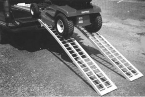 aluminum lawn tractor ramps
