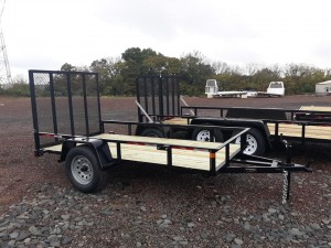 RTA510-3 - 5' x 10' Commercial Utility A Frame Trailer with 2,990 GVW & Wood Floor