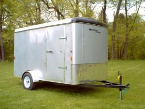 6 x 10 enclosed trailer