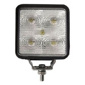 "4"" SQUARE WORK LIGHT,"