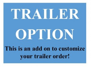 3500 lbs. GVW Trailer Upgrade