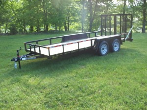 6 x 16 commercial landscape trailer